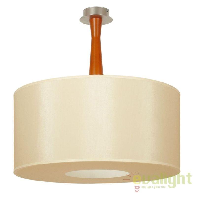 Lustra aplicata eleganta BARON KBP PL3 D65 cires/ bej, Lustre moderne aplicate, Corpuri de iluminat, lustre, aplice, veioze, lampadare, plafoniere. Mobilier si decoratiuni, oglinzi, scaune, fotolii. Oferte speciale iluminat interior si exterior. Livram in toata tara.  a