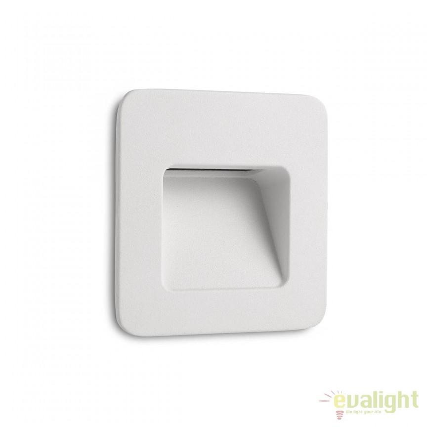 SPOT LED INCASTRABIL DE EXTERIOR NASE-1 alb 70395 , Spoturi incastrate, aplicate, Corpuri de iluminat, lustre, aplice, veioze, lampadare, plafoniere. Mobilier si decoratiuni, oglinzi, scaune, fotolii. Oferte speciale iluminat interior si exterior. Livram in toata tara.  a