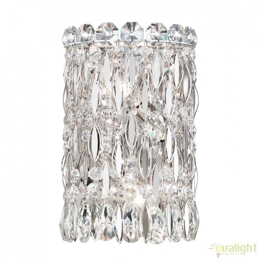 Aplica eleganta design LUX cristal Spectra, Sarella RS8333, Aplice Cristal Schonbek , Corpuri de iluminat, lustre, aplice, veioze, lampadare, plafoniere. Mobilier si decoratiuni, oglinzi, scaune, fotolii. Oferte speciale iluminat interior si exterior. Livram in toata tara.  a