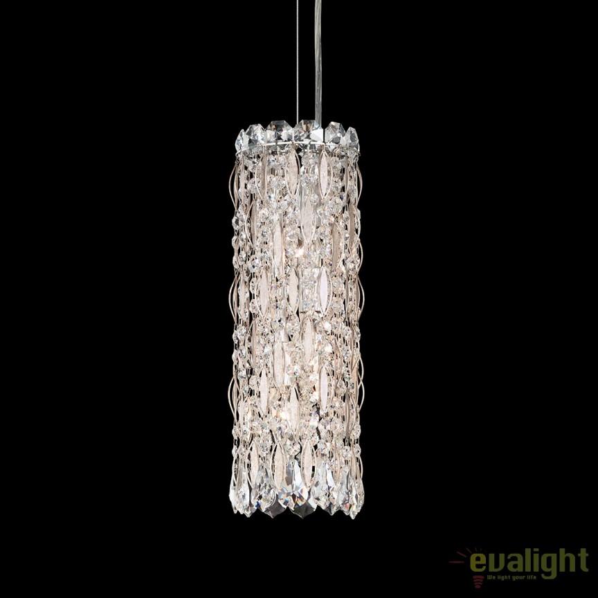 Pendul elegant design LUX cristal Swarovski, Sarella RS8341, Lustre Cristal Schonbek , Corpuri de iluminat, lustre, aplice, veioze, lampadare, plafoniere. Mobilier si decoratiuni, oglinzi, scaune, fotolii. Oferte speciale iluminat interior si exterior. Livram in toata tara.  a