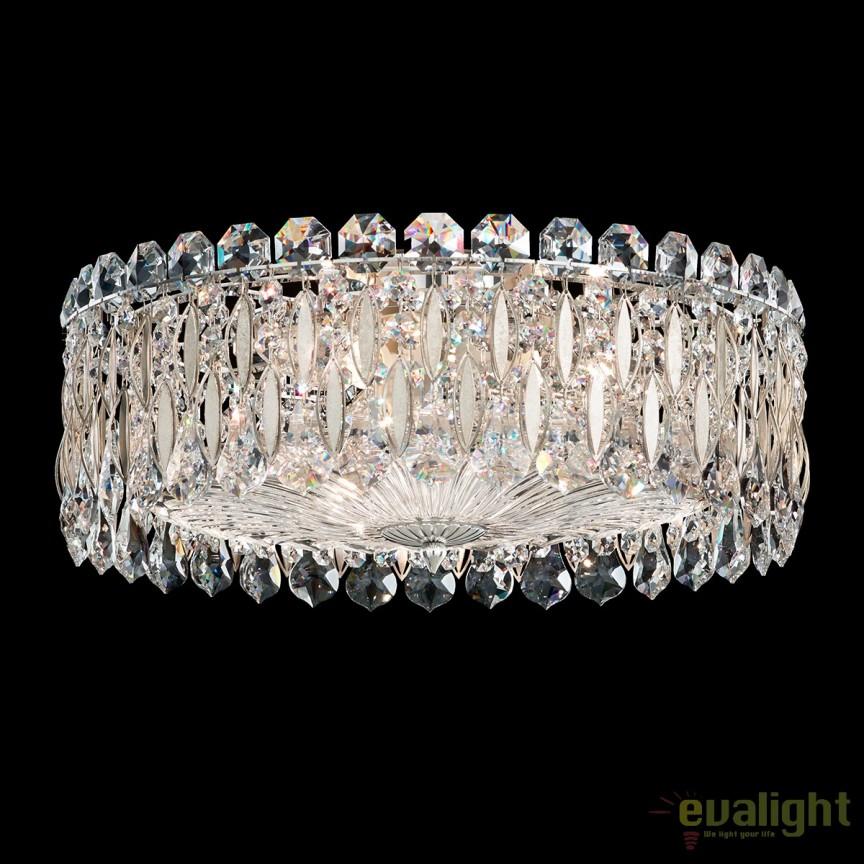 Plafoniera eleganta design LUX cristal Swarovski, Sarella RS8348, Plafoniere Cristal Schonbek , Corpuri de iluminat, lustre, aplice, veioze, lampadare, plafoniere. Mobilier si decoratiuni, oglinzi, scaune, fotolii. Oferte speciale iluminat interior si exterior. Livram in toata tara.  a