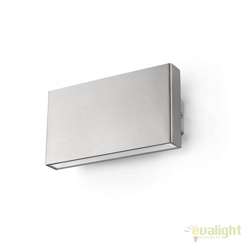 Aplica perete LED de exterior design modern minimalist KAULA-2 70406 , Aplice de exterior moderne , Corpuri de iluminat, lustre, aplice, veioze, lampadare, plafoniere. Mobilier si decoratiuni, oglinzi, scaune, fotolii. Oferte speciale iluminat interior si exterior. Livram in toata tara.  a