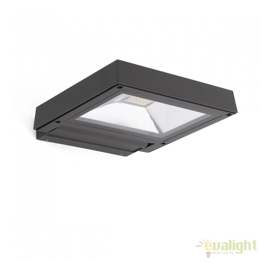 Aplica LED tip proiector iluminat exterior design modern KARL 70261 , Proiectoare de iluminat exterior , Corpuri de iluminat, lustre, aplice, veioze, lampadare, plafoniere. Mobilier si decoratiuni, oglinzi, scaune, fotolii. Oferte speciale iluminat interior si exterior. Livram in toata tara.  a