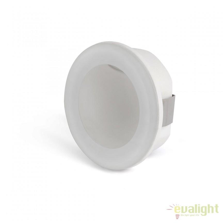 Spot LED incastrabil iluminat exterior GALO Round 70265, Spoturi incastrate, aplicate, Corpuri de iluminat, lustre, aplice, veioze, lampadare, plafoniere. Mobilier si decoratiuni, oglinzi, scaune, fotolii. Oferte speciale iluminat interior si exterior. Livram in toata tara.  a