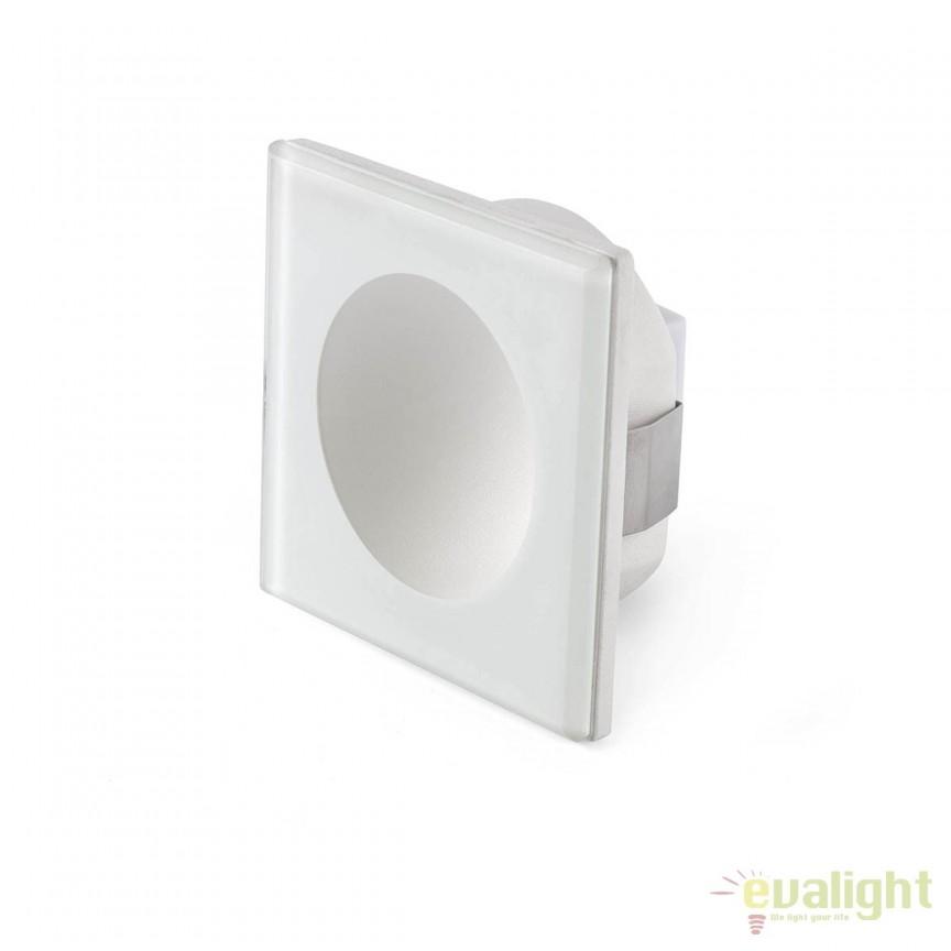 Spot LED incastrabil iluminat exterior GALO Square 70266  , Iluminat exterior incastrabil , Corpuri de iluminat, lustre, aplice, veioze, lampadare, plafoniere. Mobilier si decoratiuni, oglinzi, scaune, fotolii. Oferte speciale iluminat interior si exterior. Livram in toata tara.  a