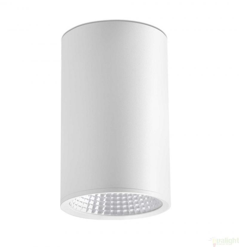 Plafonier, spot alb cu iluminat LED, REL-G 64200, Cele mai vandute Corpuri de iluminat, lustre, aplice, veioze, lampadare, plafoniere. Mobilier si decoratiuni, oglinzi, scaune, fotolii. Oferte speciale iluminat interior si exterior. Livram in toata tara.  a