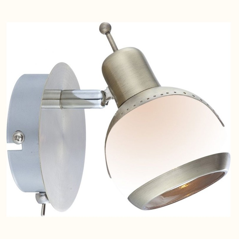 Aplica de perete Galvin 56101-1 GL, Outlet, Corpuri de iluminat, lustre, aplice, veioze, lampadare, plafoniere. Mobilier si decoratiuni, oglinzi, scaune, fotolii. Oferte speciale iluminat interior si exterior. Livram in toata tara.  a