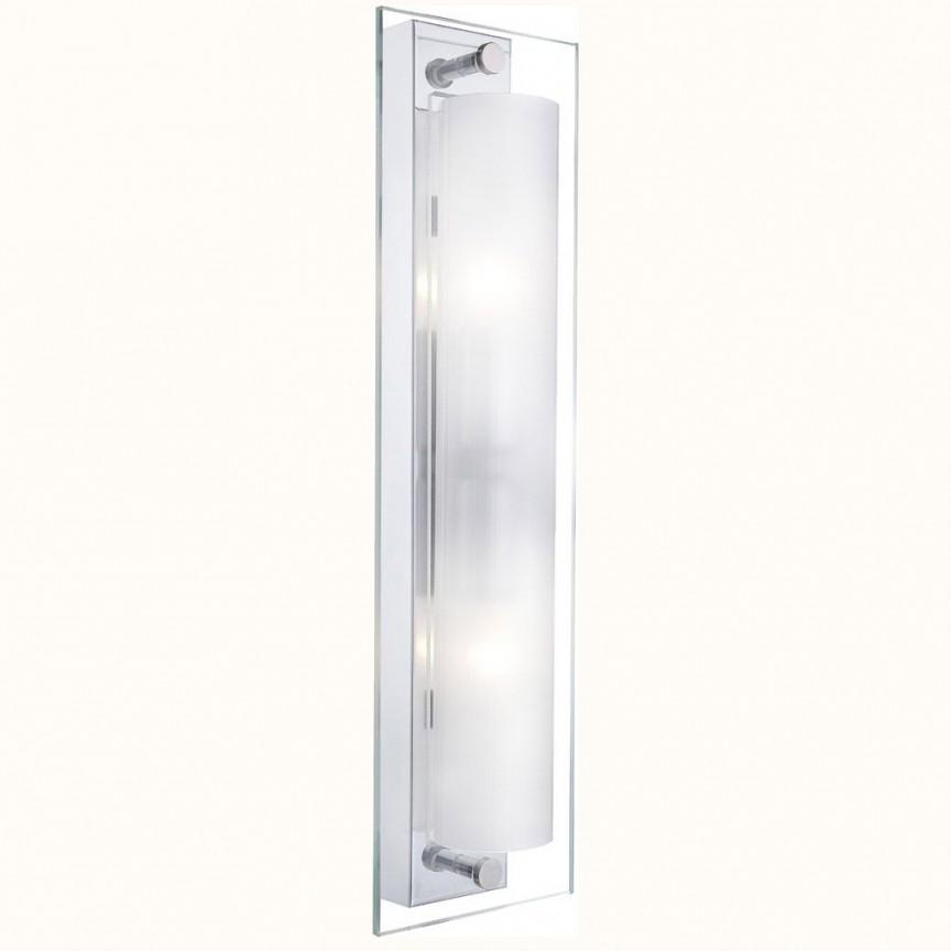 Aplica perete sau tavan L-42,5cm Line 4111 GL, Outlet, Corpuri de iluminat, lustre, aplice, veioze, lampadare, plafoniere. Mobilier si decoratiuni, oglinzi, scaune, fotolii. Oferte speciale iluminat interior si exterior. Livram in toata tara.  a