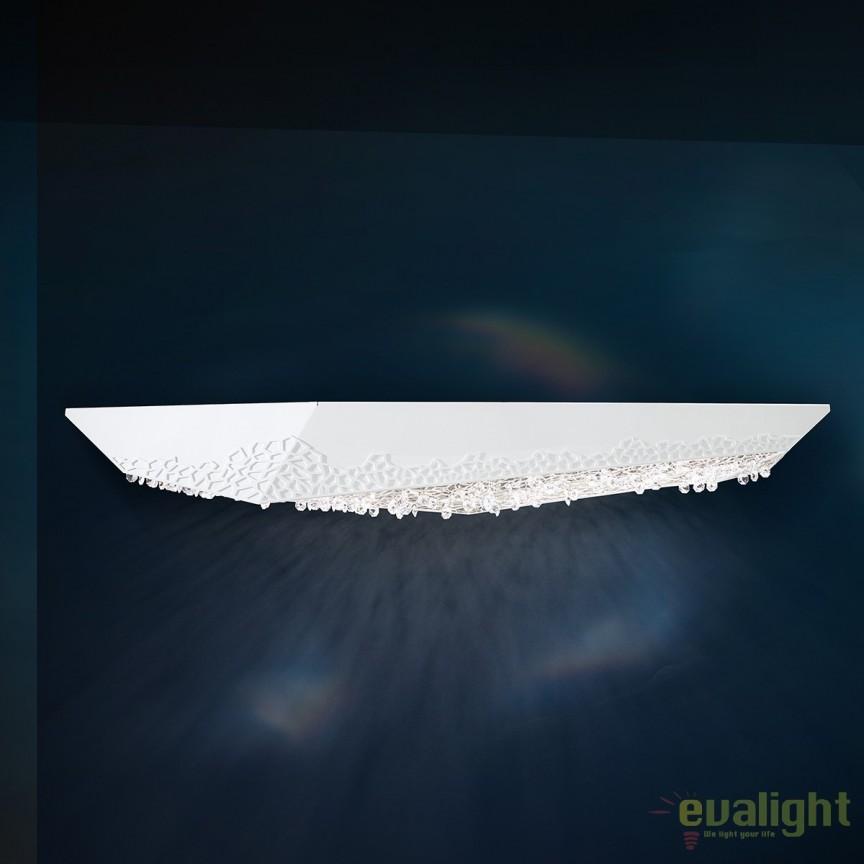 Aplica design LUX cristal Swarovski LED Glyph SFM600, Aplice Cristal Swarovski, Corpuri de iluminat, lustre, aplice, veioze, lampadare, plafoniere. Mobilier si decoratiuni, oglinzi, scaune, fotolii. Oferte speciale iluminat interior si exterior. Livram in toata tara.  a