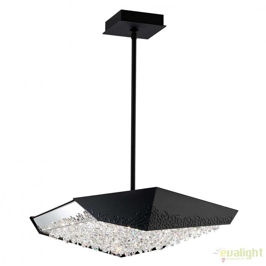 Lustra design LUX cristal Swarovski LED Glyph SFM700, Lustre Cristal Swarovski , Corpuri de iluminat, lustre, aplice, veioze, lampadare, plafoniere. Mobilier si decoratiuni, oglinzi, scaune, fotolii. Oferte speciale iluminat interior si exterior. Livram in toata tara.  a