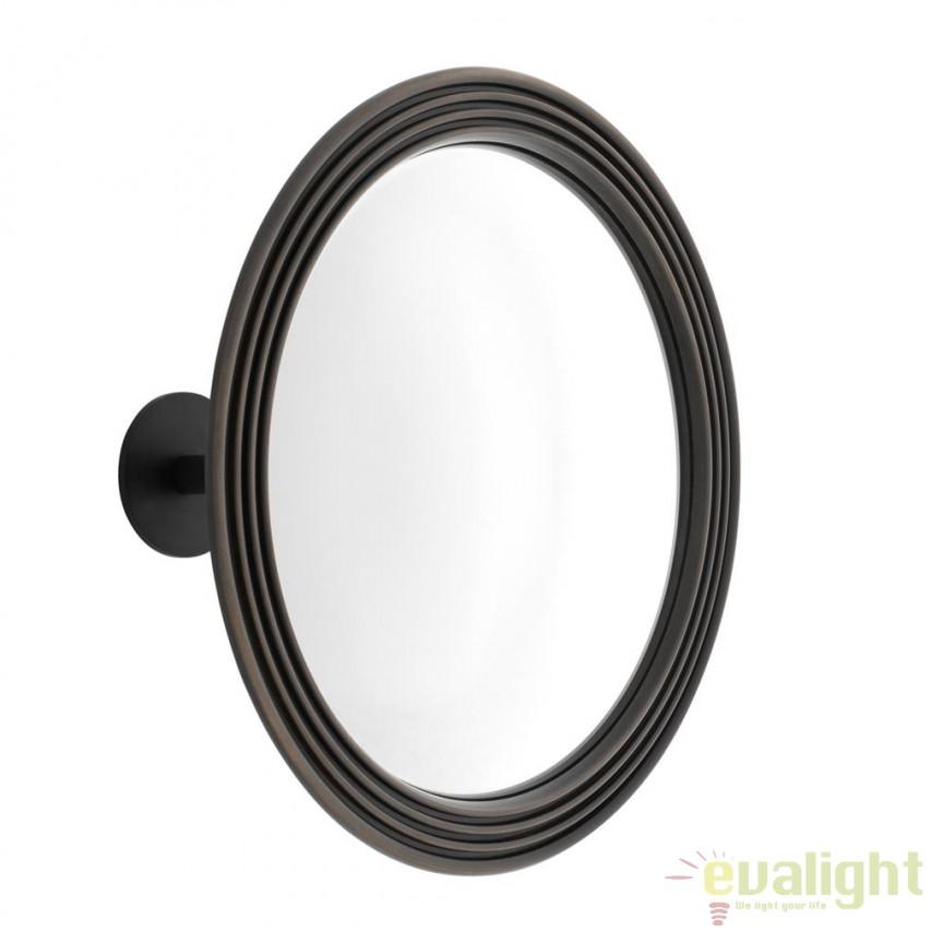 Oglinda decorativa design LUX Courbes bronz 111760 HZ, Oglinzi decorative, Corpuri de iluminat, lustre, aplice, veioze, lampadare, plafoniere. Mobilier si decoratiuni, oglinzi, scaune, fotolii. Oferte speciale iluminat interior si exterior. Livram in toata tara.  a