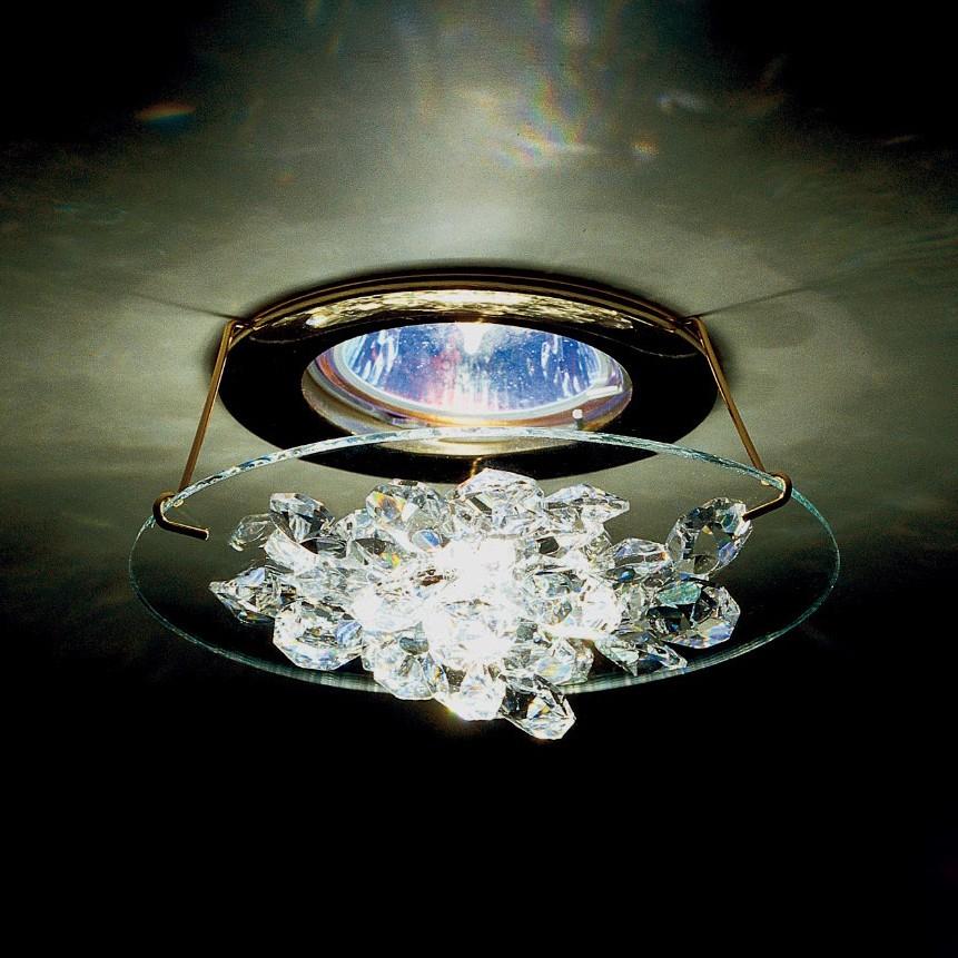 Spot incastrabil design LUX cristal Swarovski Ice SCE405, Spoturi tavan fals Cristal, Corpuri de iluminat, lustre, aplice, veioze, lampadare, plafoniere. Mobilier si decoratiuni, oglinzi, scaune, fotolii. Oferte speciale iluminat interior si exterior. Livram in toata tara.  a