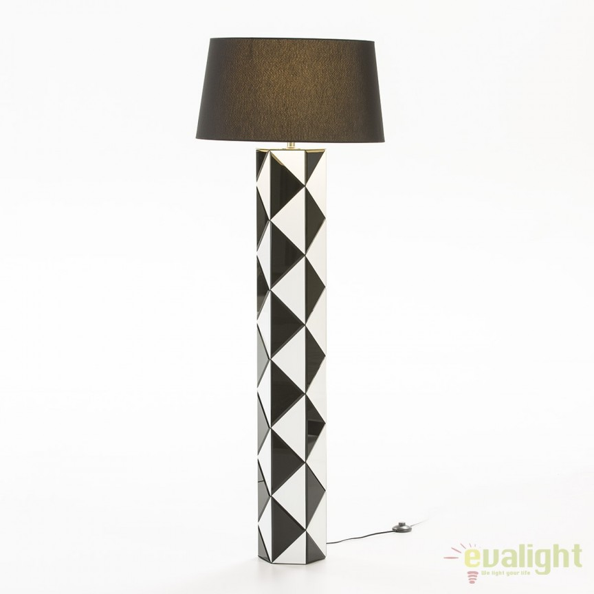 Lampadar / Lampa de podea eleganta design deosebit Baltasar 36630/00 TN + abajur 32072/45 TN, Lampadare clasice, Corpuri de iluminat, lustre, aplice, veioze, lampadare, plafoniere. Mobilier si decoratiuni, oglinzi, scaune, fotolii. Oferte speciale iluminat interior si exterior. Livram in toata tara.  a