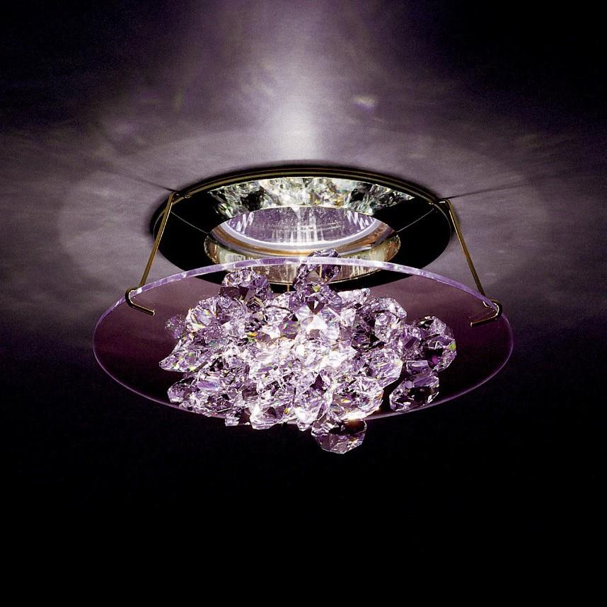 Spot incastrabil design LUX cristal Swarovski Bordeaux Ice SCE405, Spoturi tavan fals Cristal, Corpuri de iluminat, lustre, aplice, veioze, lampadare, plafoniere. Mobilier si decoratiuni, oglinzi, scaune, fotolii. Oferte speciale iluminat interior si exterior. Livram in toata tara.  a
