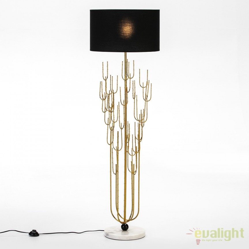 Lampadar / Lampa de podea eleganta design deosebit Inka 65812/00 TN + abajur 32073/50 TN, Lampadare clasice, Corpuri de iluminat, lustre, aplice, veioze, lampadare, plafoniere. Mobilier si decoratiuni, oglinzi, scaune, fotolii. Oferte speciale iluminat interior si exterior. Livram in toata tara.  a