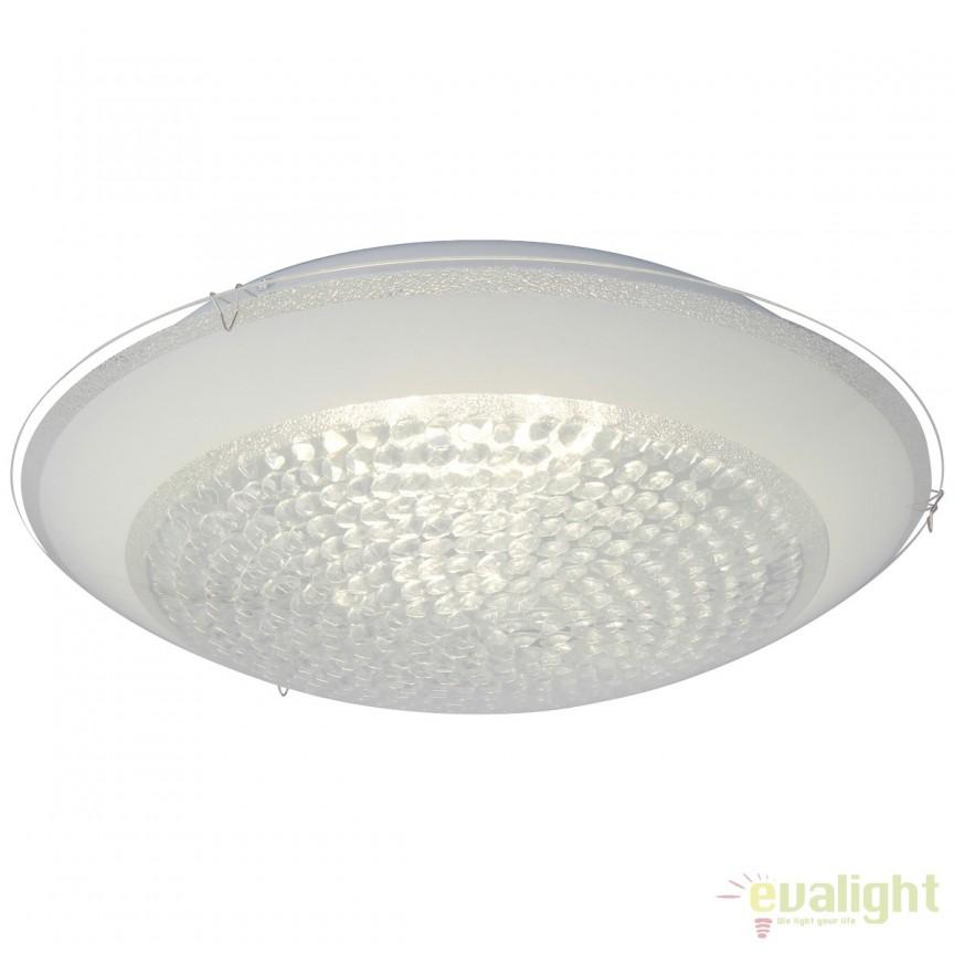Aplica perete sau tavan, design modern cu iluminat LED VERA 40cm G96864/85 BL, Aplice de perete LED, Corpuri de iluminat, lustre, aplice, veioze, lampadare, plafoniere. Mobilier si decoratiuni, oglinzi, scaune, fotolii. Oferte speciale iluminat interior si exterior. Livram in toata tara.  a
