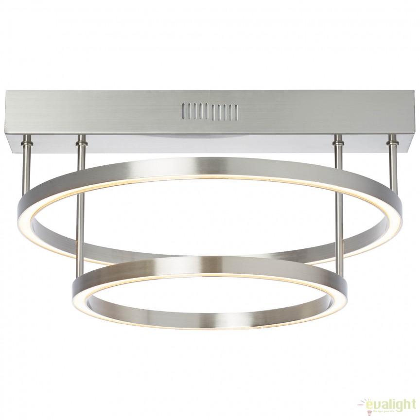 Plafoniera eleganta LED dimabil, TUNAR G93448/68 BL, Lustre LED, Pendule LED, Corpuri de iluminat, lustre, aplice, veioze, lampadare, plafoniere. Mobilier si decoratiuni, oglinzi, scaune, fotolii. Oferte speciale iluminat interior si exterior. Livram in toata tara.  a