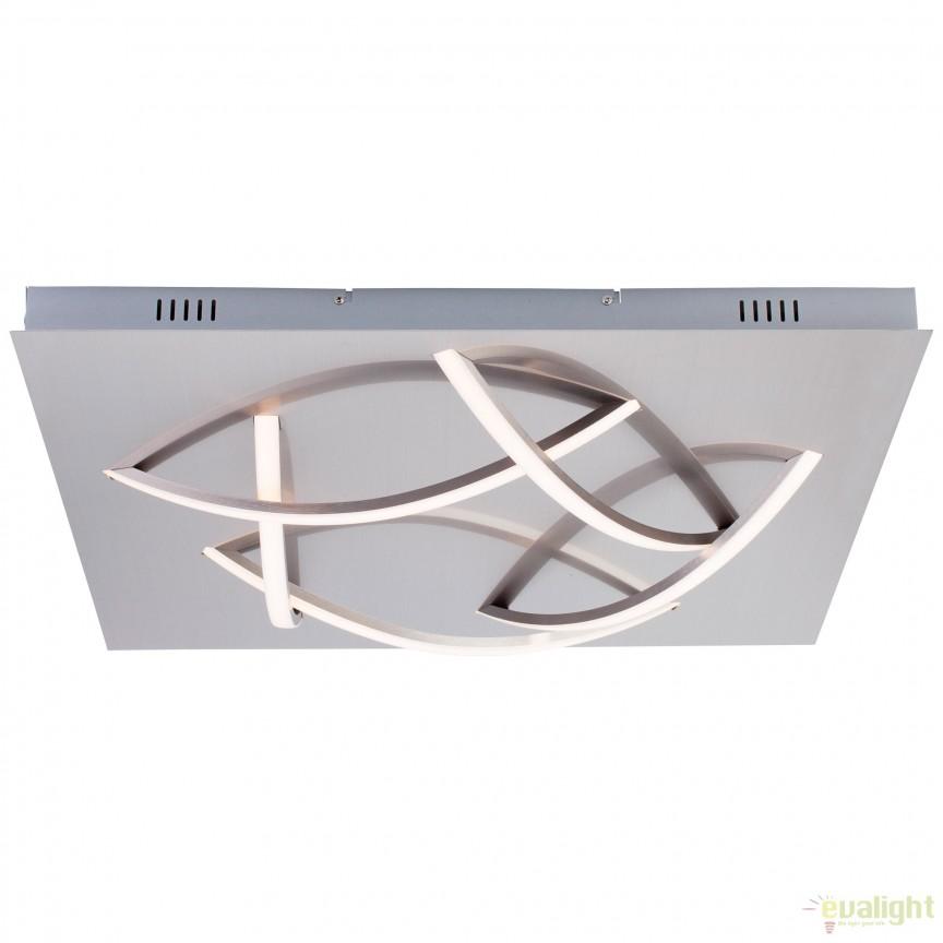 Plafoniera eleganta LED dimabil, STANLY G90346/68 BL, Cele mai noi produse 2018 a