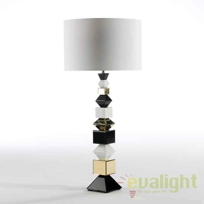 Lampadar / Lampa de podea design elegant Roselle negru 36606/00 TN + abajur 32073/50 TN, Lampadare clasice, Corpuri de iluminat, lustre, aplice, veioze, lampadare, plafoniere. Mobilier si decoratiuni, oglinzi, scaune, fotolii. Oferte speciale iluminat interior si exterior. Livram in toata tara.  a