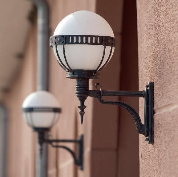 Aplica iluminat exterior din fier forjat, WL 3450 , Aplice Exterior Fier Forjat, Corpuri de iluminat, lustre, aplice, veioze, lampadare, plafoniere. Mobilier si decoratiuni, oglinzi, scaune, fotolii. Oferte speciale iluminat interior si exterior. Livram in toata tara.  a