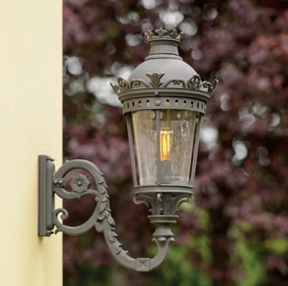 Aplica iluminat exterior din fier forjat design clasic in stil Empire, WL 3669, Magazin, Corpuri de iluminat, lustre, aplice, veioze, lampadare, plafoniere. Mobilier si decoratiuni, oglinzi, scaune, fotolii. Oferte speciale iluminat interior si exterior. Livram in toata tara.  a