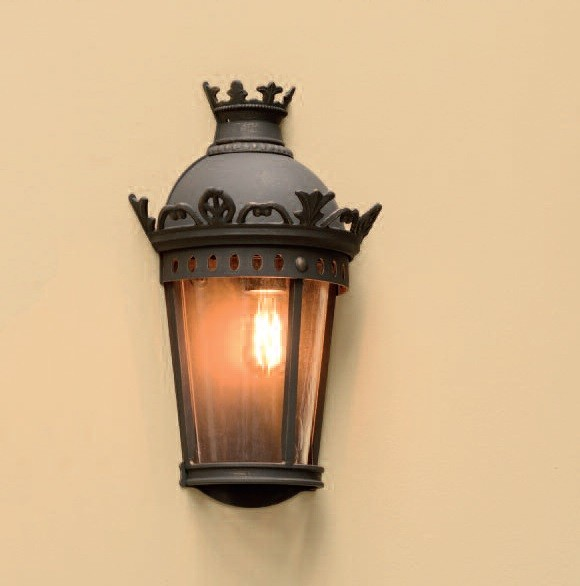 Aplica 1/2 iluminat exterior din fier forjat design clasic in stil Empire,, Magazin, Corpuri de iluminat, lustre, aplice, veioze, lampadare, plafoniere. Mobilier si decoratiuni, oglinzi, scaune, fotolii. Oferte speciale iluminat interior si exterior. Livram in toata tara.  a