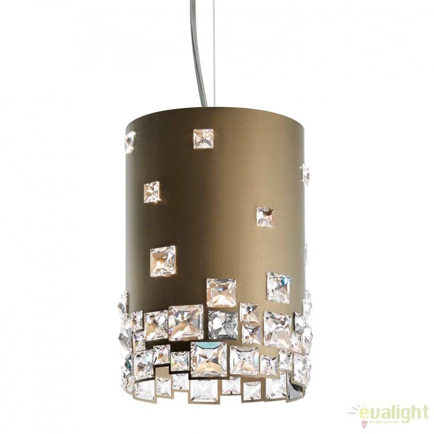 Lustra eleganta design LUX cristal Swarovski Mosaix SMX145, Lustre Cristal Swarovski , Corpuri de iluminat, lustre, aplice, veioze, lampadare, plafoniere. Mobilier si decoratiuni, oglinzi, scaune, fotolii. Oferte speciale iluminat interior si exterior. Livram in toata tara.  a