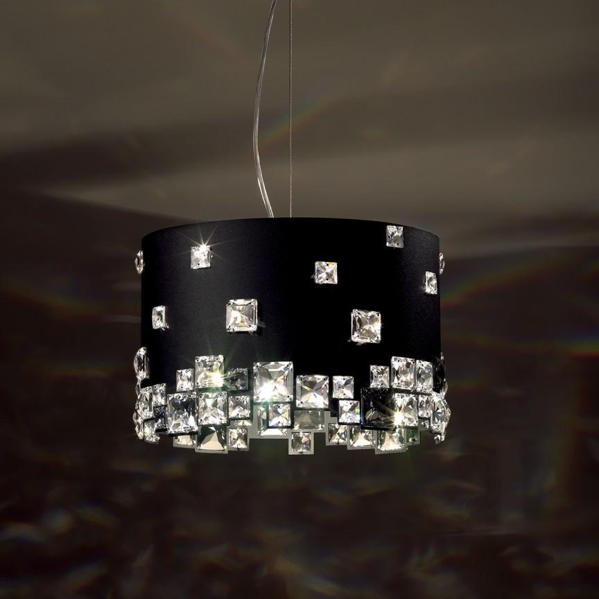 Lustra design LUX cristal Swarovski Mosaix SMX155, Lustre Cristal Swarovski , Corpuri de iluminat, lustre, aplice, veioze, lampadare, plafoniere. Mobilier si decoratiuni, oglinzi, scaune, fotolii. Oferte speciale iluminat interior si exterior. Livram in toata tara.  a