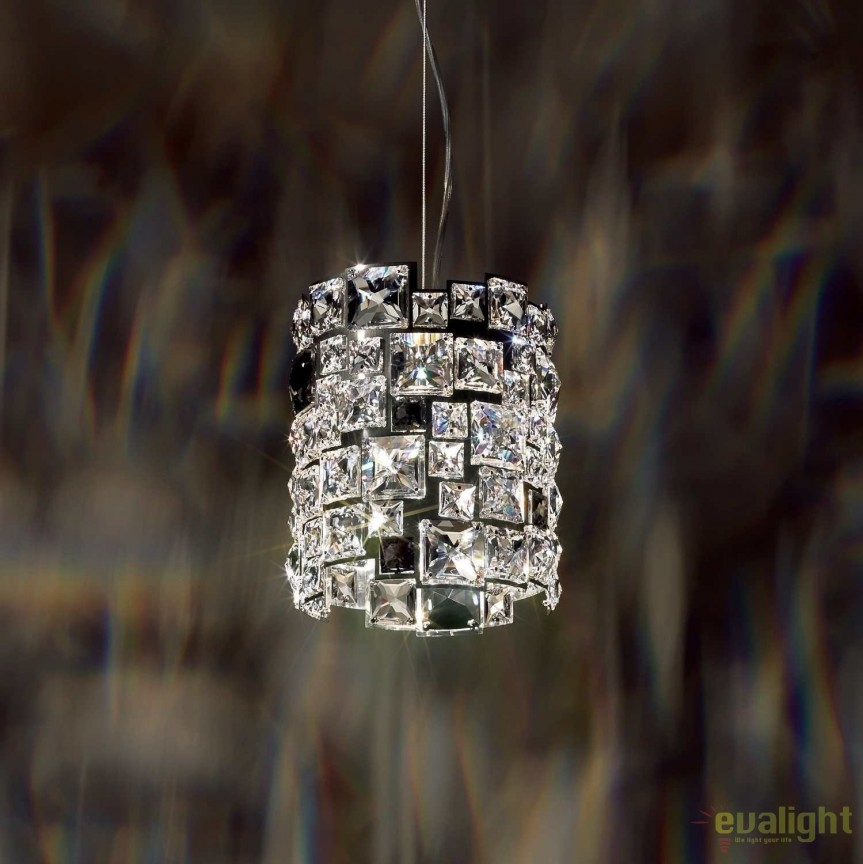 Lustra design LUX cristal Swarovski Mosaix SMX105, full crystal, Lustre Cristal Swarovski , Corpuri de iluminat, lustre, aplice, veioze, lampadare, plafoniere. Mobilier si decoratiuni, oglinzi, scaune, fotolii. Oferte speciale iluminat interior si exterior. Livram in toata tara.  a