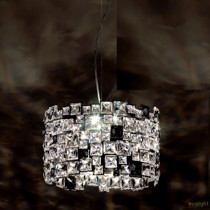 Lustra design LUX cristal Swarovski Mosaix SMX125, full crystal, Lustre Cristal Swarovski , Corpuri de iluminat, lustre, aplice, veioze, lampadare, plafoniere. Mobilier si decoratiuni, oglinzi, scaune, fotolii. Oferte speciale iluminat interior si exterior. Livram in toata tara.  a