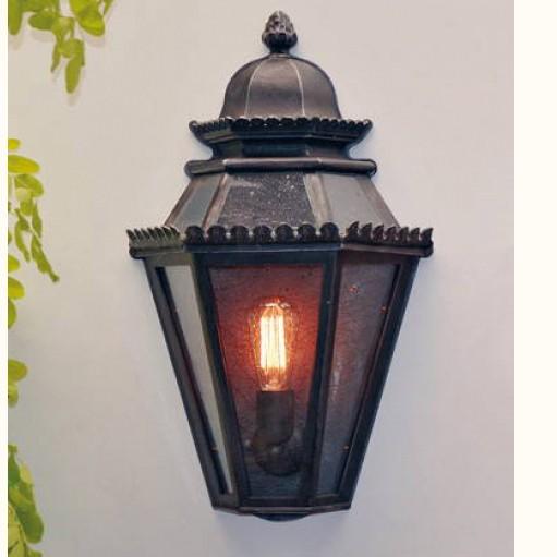 Aplica 1/2 iluminat exterior din fier forjat, WL 3552, Aplice Exterior Fier Forjat, Corpuri de iluminat, lustre, aplice, veioze, lampadare, plafoniere. Mobilier si decoratiuni, oglinzi, scaune, fotolii. Oferte speciale iluminat interior si exterior. Livram in toata tara.  a