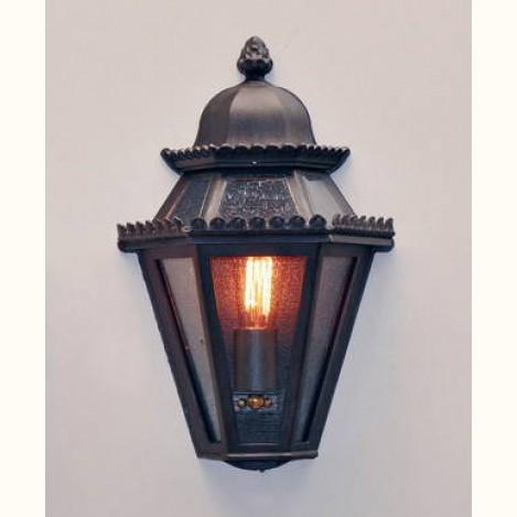 Aplica 1/2 iluminat exterior din fier forjat, WL 3551, Aplice Exterior Fier Forjat, Corpuri de iluminat, lustre, aplice, veioze, lampadare, plafoniere. Mobilier si decoratiuni, oglinzi, scaune, fotolii. Oferte speciale iluminat interior si exterior. Livram in toata tara.  a