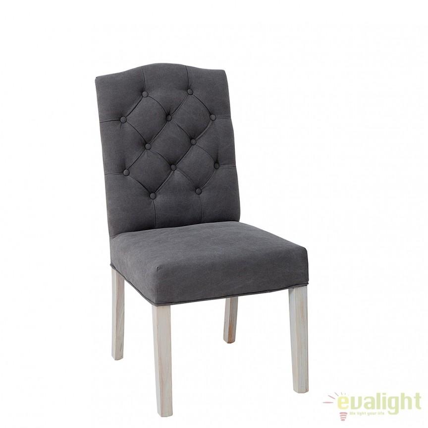 Set de 2 scaune elegante cu tapiterie din IN, Castle A-37876 VC, Seturi scaune dining, scaune HoReCa, Corpuri de iluminat, lustre, aplice, veioze, lampadare, plafoniere. Mobilier si decoratiuni, oglinzi, scaune, fotolii. Oferte speciale iluminat interior si exterior. Livram in toata tara.  a