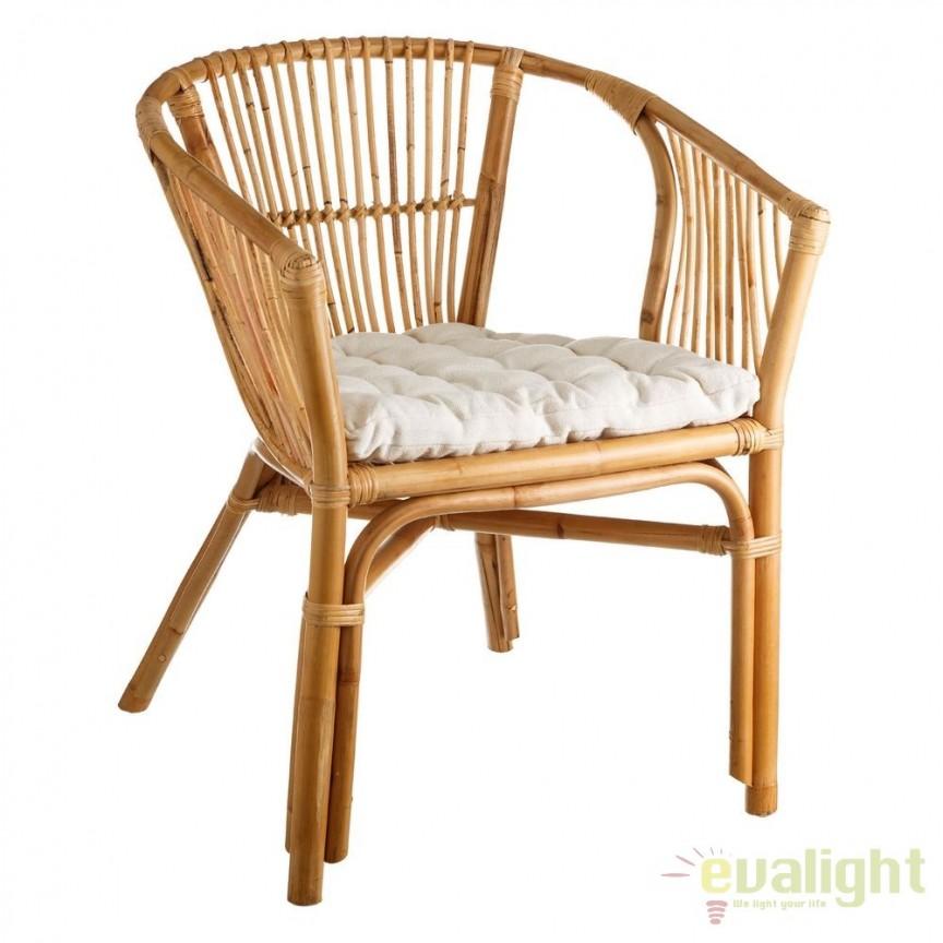 Set de 2 scaune design rustic Rattan, NATURAL SX-105561, Seturi scaune dining, scaune HoReCa, Corpuri de iluminat, lustre, aplice, veioze, lampadare, plafoniere. Mobilier si decoratiuni, oglinzi, scaune, fotolii. Oferte speciale iluminat interior si exterior. Livram in toata tara.  a