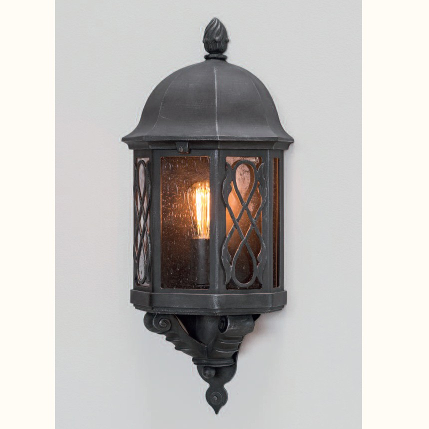 Aplica iluminat exterior din fier forjat, WL 3446, Aplice Exterior Fier Forjat, Corpuri de iluminat, lustre, aplice, veioze, lampadare, plafoniere. Mobilier si decoratiuni, oglinzi, scaune, fotolii. Oferte speciale iluminat interior si exterior. Livram in toata tara.  a
