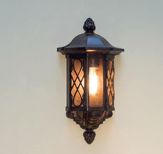 Aplica iluminat exterior din fier forjat, WL 3474, Aplice Exterior Fier Forjat, Corpuri de iluminat, lustre, aplice, veioze, lampadare, plafoniere. Mobilier si decoratiuni, oglinzi, scaune, fotolii. Oferte speciale iluminat interior si exterior. Livram in toata tara.  a