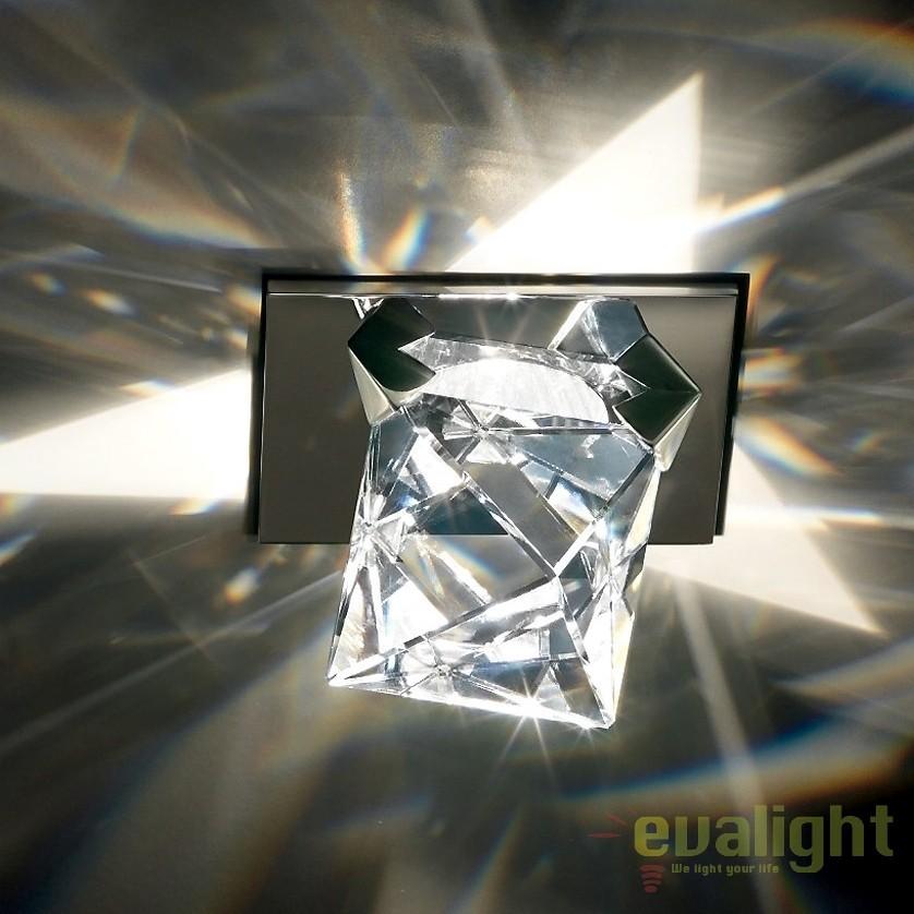 Spot incastrabil design LUX cristal Swarovski, Octa SOT405 A9950NR700120, Spoturi tavan fals Cristal, Corpuri de iluminat, lustre, aplice, veioze, lampadare, plafoniere. Mobilier si decoratiuni, oglinzi, scaune, fotolii. Oferte speciale iluminat interior si exterior. Livram in toata tara.  a