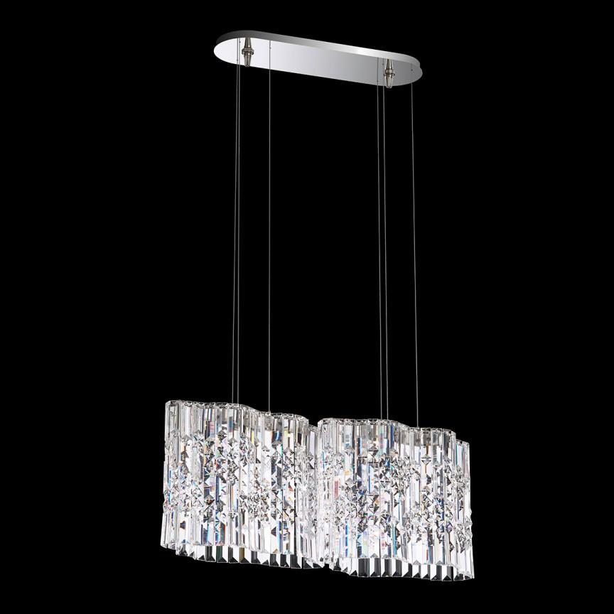 Lustra design LUX Spectra Crystal, LED Selene SPU130, Lustre Cristal Swarovski , Corpuri de iluminat, lustre, aplice, veioze, lampadare, plafoniere. Mobilier si decoratiuni, oglinzi, scaune, fotolii. Oferte speciale iluminat interior si exterior. Livram in toata tara.  a
