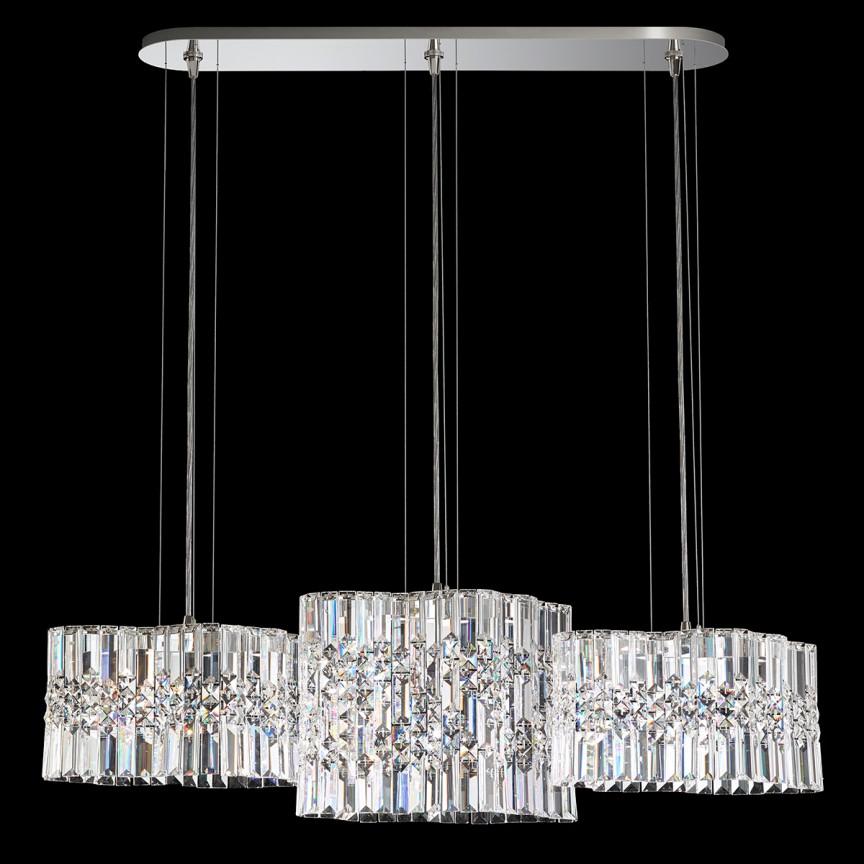 Lustra design LUX Spectra Crystal, LED Selene SPU140 , Lustre Cristal Swarovski , Corpuri de iluminat, lustre, aplice, veioze, lampadare, plafoniere. Mobilier si decoratiuni, oglinzi, scaune, fotolii. Oferte speciale iluminat interior si exterior. Livram in toata tara.  a
