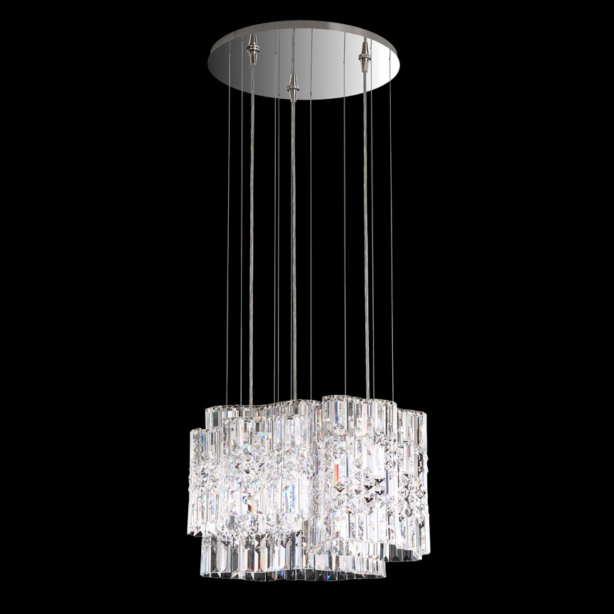 Lustra design LUX Spectra Crystal, LED Selene SPU150, Lustre Cristal Swarovski , Corpuri de iluminat, lustre, aplice, veioze, lampadare, plafoniere. Mobilier si decoratiuni, oglinzi, scaune, fotolii. Oferte speciale iluminat interior si exterior. Livram in toata tara.  a