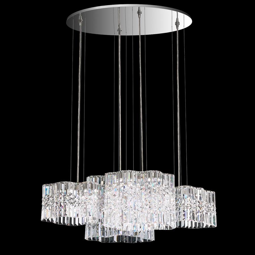 Lustra design LUX Spectra Crystal, LED Selene SPU160, Lustre Cristal Swarovski , Corpuri de iluminat, lustre, aplice, veioze, lampadare, plafoniere. Mobilier si decoratiuni, oglinzi, scaune, fotolii. Oferte speciale iluminat interior si exterior. Livram in toata tara.  a