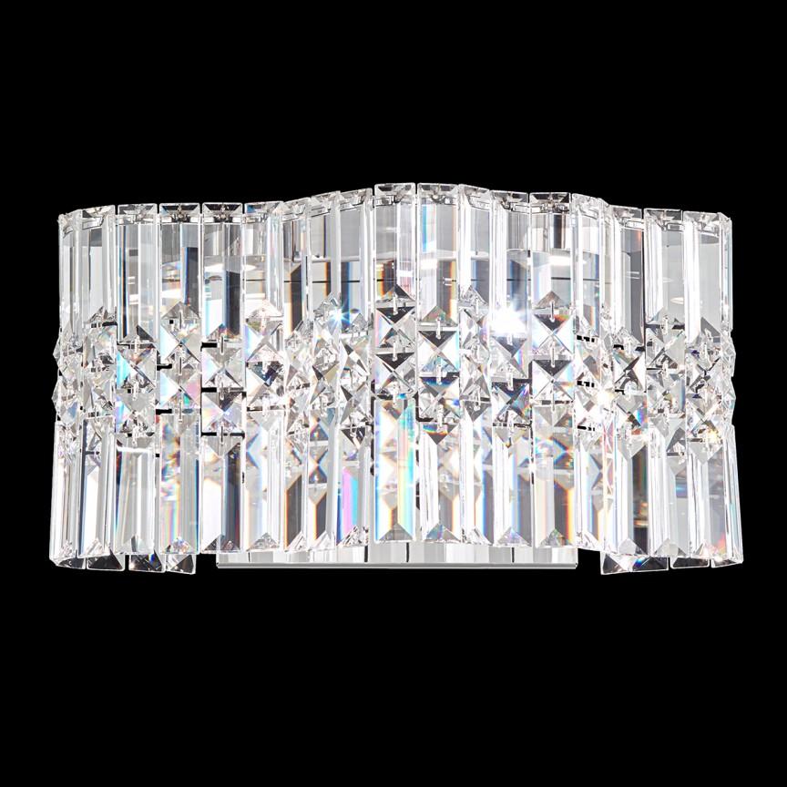 Aplica design LUX Spectra Crystal, LED Selene SPU170, Aplice Cristal Swarovski, Corpuri de iluminat, lustre, aplice, veioze, lampadare, plafoniere. Mobilier si decoratiuni, oglinzi, scaune, fotolii. Oferte speciale iluminat interior si exterior. Livram in toata tara.  a
