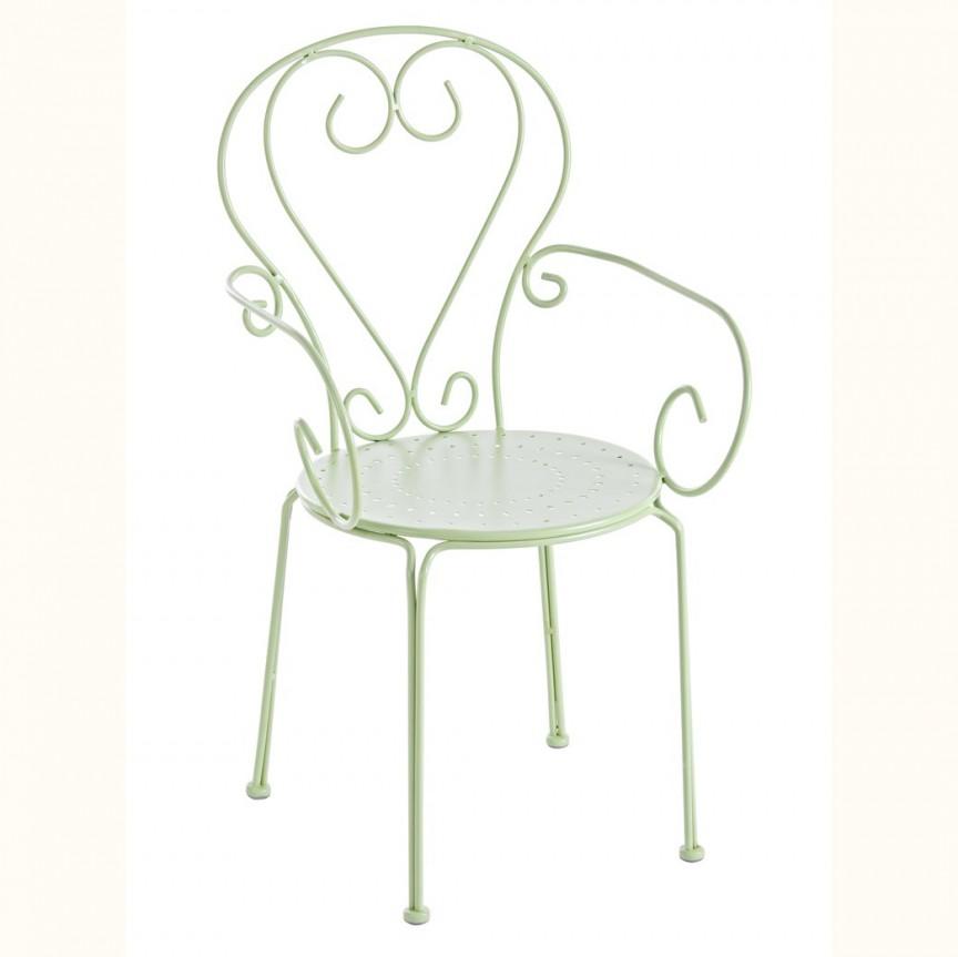 Set de 4 scaune din metal pentru exterior ETIENNE 0802380 BZ, Mobilier terasa si gradina, Corpuri de iluminat, lustre, aplice, veioze, lampadare, plafoniere. Mobilier si decoratiuni, oglinzi, scaune, fotolii. Oferte speciale iluminat interior si exterior. Livram in toata tara.  a