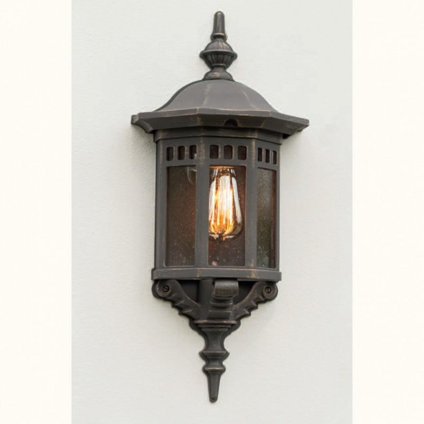 Aplica iluminat exterior din fier forjat, WL 3511, Aplice Exterior Fier Forjat, Corpuri de iluminat, lustre, aplice, veioze, lampadare, plafoniere. Mobilier si decoratiuni, oglinzi, scaune, fotolii. Oferte speciale iluminat interior si exterior. Livram in toata tara.  a