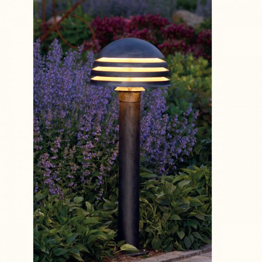 Stalp iluminat exterior din fier forjat, inaltime 106cm, AL 6339, Stalpi Fier Forjat,  a
