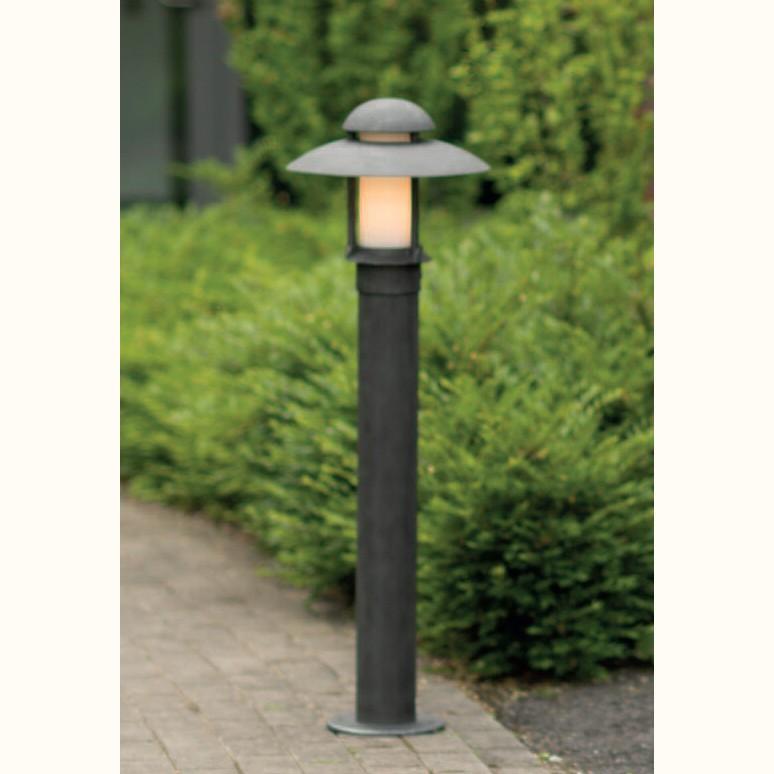 Stalp iluminat exterior din fier forjat, inaltime 100cm, AL 6521, Stalpi Fier Forjat,  a