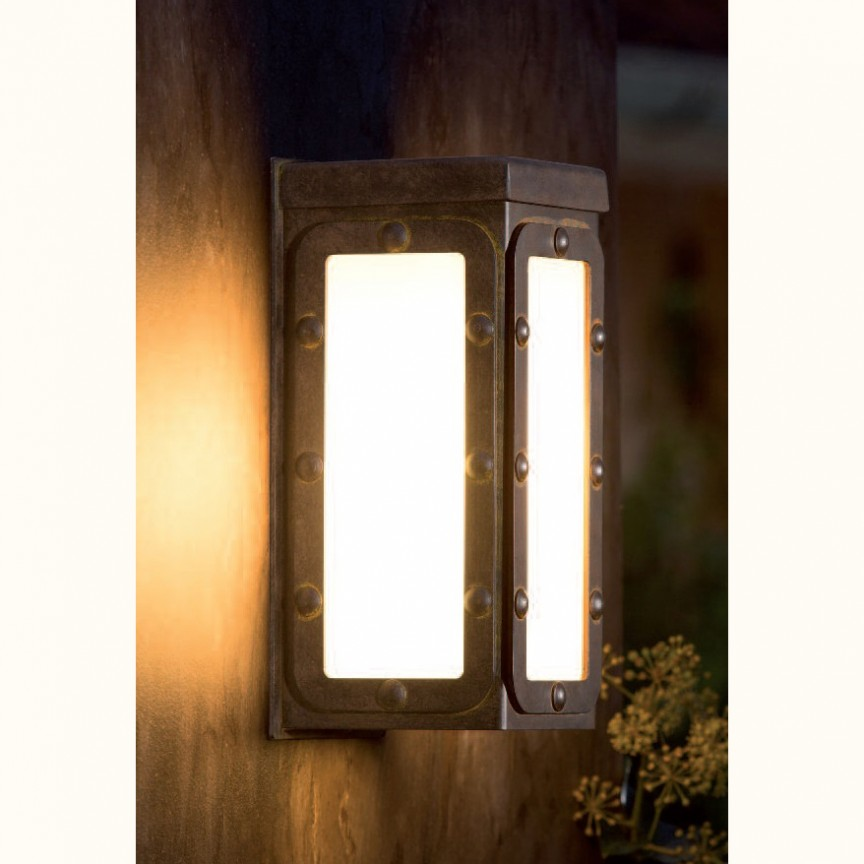 Aplica iluminat exterior din fier forjat, WL 3636, Aplice Exterior Fier Forjat, Corpuri de iluminat, lustre, aplice, veioze, lampadare, plafoniere. Mobilier si decoratiuni, oglinzi, scaune, fotolii. Oferte speciale iluminat interior si exterior. Livram in toata tara.  a