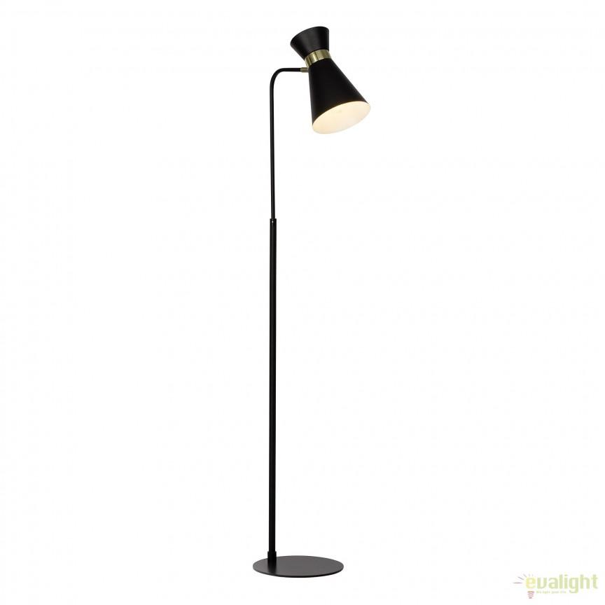 Lampadar / Lampa de podea stil retro GOLDY 64458/86 BL, NOU ! Lustre VINTAGE, RETRO, INDUSTRIA Style,  a