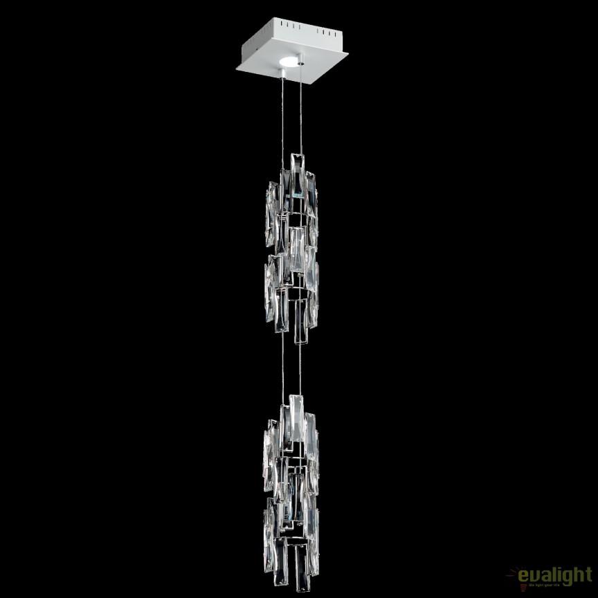 Lustra design LUX cristal Swarovski, LED Turns TUR110, Lustre Cristal Swarovski , Corpuri de iluminat, lustre, aplice, veioze, lampadare, plafoniere. Mobilier si decoratiuni, oglinzi, scaune, fotolii. Oferte speciale iluminat interior si exterior. Livram in toata tara.  a