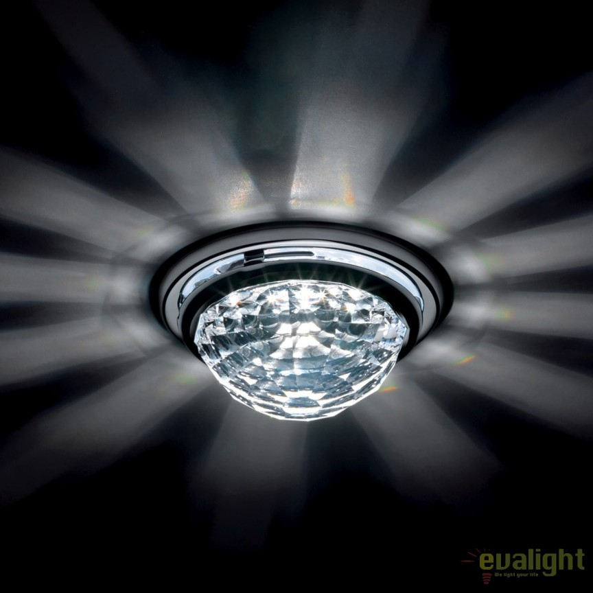 Spot incastrabil design LUX cristal Swarovski Vega SVA405, Spoturi tavan fals Cristal, Corpuri de iluminat, lustre, aplice, veioze, lampadare, plafoniere. Mobilier si decoratiuni, oglinzi, scaune, fotolii. Oferte speciale iluminat interior si exterior. Livram in toata tara.  a